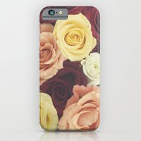 iPhone & iPod Case featuring Vintage Roses II by Libertad Leal Photography