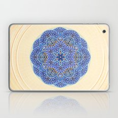 Blue Morocco Tile Mandala Laptop & iPad Skin