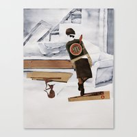 At Home Canvas Print