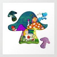 Alice #2 Art Print