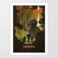 Dinosaur Poster Art Print