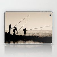 Three Fishermen Laptop & iPad Skin