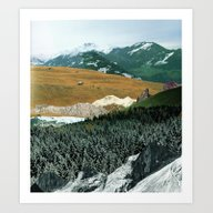 Art Print featuring Experiment Am Berg 21 by Marko Köppe