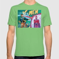 X-Men! Mens Fitted Tee Grass SMALL