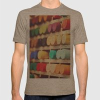 Colors Mens Fitted Tee Tri-Coffee SMALL