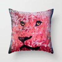 The Good And Noble King Throw Pillow