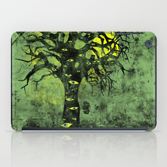 the Vision Tree (green) iPad Case