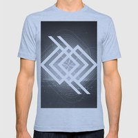 150 Mens Fitted Tee Athletic Blue SMALL
