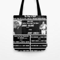 #4-B Memphis Wrestling W… Tote Bag