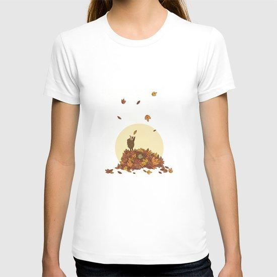 Autumn Hedgehogs T-shirt