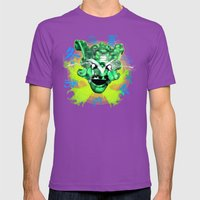 Poster El Mundo Mens Fitted Tee Ultraviolet SMALL