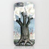 Wood fire iPhone 6 Slim Case