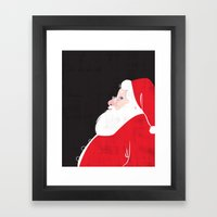 Christmas Be Good Sans Copy Framed Art Print