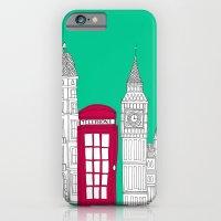 Capital Icons // London Red Telephone Box iPhone 6 Slim Case
