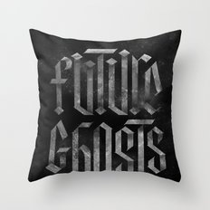 Future Ghosts Throw Pillow