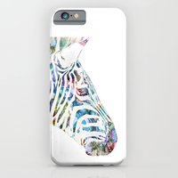 zebra iPhone & iPod Cases featuring Zebra by NKlein Design