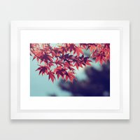 Fall into Autumn Framed Art Print