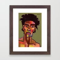 Likes To Party Framed Art Print