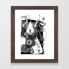 machine Framed Art Print