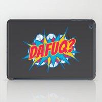 Dafuq? iPad Case
