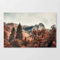 Yosemite Fall Colors Canvas Print