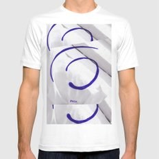 You  White Mens Fitted Tee SMALL