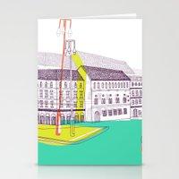 Urban Life II Stationery Cards