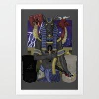 Set Pro Gloria Art Print