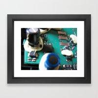 #masterfactory - (part2)a Framed Art Print