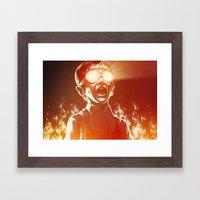 FIREEE! Framed Art Print