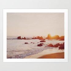 Corona Del Mar, California Art Print