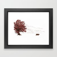 Winter Came Early That Y… Framed Art Print