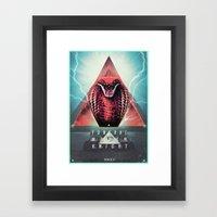 MYSTIC//KOBRA Framed Art Print