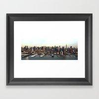 Hudson Meet NYC Framed Art Print