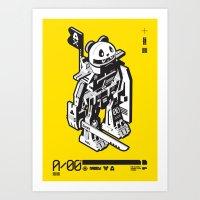 A:06 Art Print