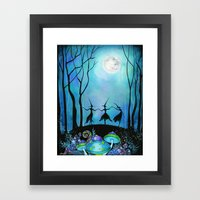 Halloween Dance  Framed Art Print