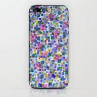 Pink Beneath Square-Conf… iPhone & iPod Skin