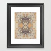Tribal Wings Framed Art Print