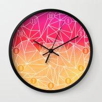 Bindi Rays Wall Clock