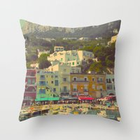 Capri, Italy Throw Pillow