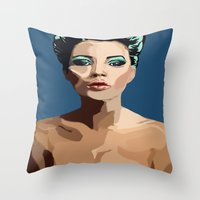 Modern Romantic Throw Pillow
