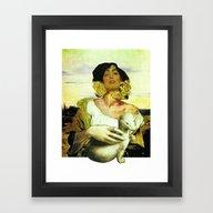 Framed Art Print featuring Klimt, Delacroix, Da Vin… by Marko Köppe