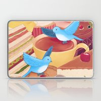 Tea Time Poesy Laptop & iPad Skin
