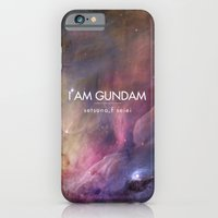iPhone & iPod Case featuring Gundam Retro Space 2 by Stefan Trudeau