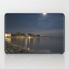 Foggy Moonlit Beach iPad Case