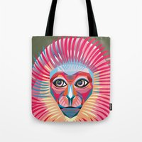 Monkey King Face  Tote Bag