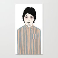 Canvas Print featuring Stripes by Le Butthead