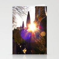 'Urban Sunburst' Stationery Cards