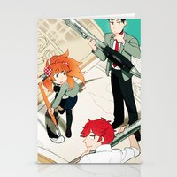 Gekkan Shoujo Nozaki-kun Stationery Cards