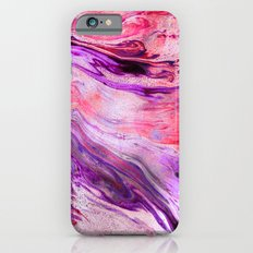 Marbled Garnet  iPhone 6 Slim Case
